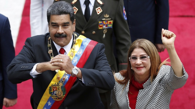 Venezuela's Maduro hammers Washington but says he's willing to meet Trump