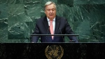 UN Secretary General Antonio Guterres addresses the 73rd session of the United Nations General Assembly, at U.N. headquarters, Tuesday, Sept. 25, 2018. (AP / Richard Drew)