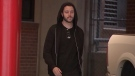 In this image made from a Sunday, Sept. 23, 2018, video by KTRK-TV, Cody Wilson walks out of the Harris County Jail in Houston. (KTRK-TV via AP)