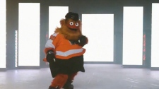 Flyers' googly-eyed mascot named 'Gritty'