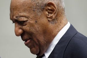 Bill Cosby departs from a sentencing hearing at the Montgomery County Courthouse, Monday, Sept. 24, 2018, in Norristown Pa. (AP Photo/Matt Slocum)