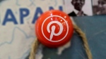 A pin signifies the Pinterest office in Japan on a map at the Pinterest office in San Francisco, Wednesday, April 1, 2015. THE CANADIAN PRESS/AP, Jeff Chiu