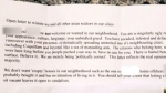 Real estate industry reacts to racist letter