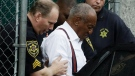 Bill Cosby departs after his sentencing hearing at the Montgomery County Courthouse, Tuesday, Sept. 25, 2018, in Norristown, Pa. (AP Photo/Matt Slocum)