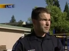B.C. conservation officer Terry Myroniuk tells CTV News that people should never feed wild animals, such as coyotes. June 30th, 2009.