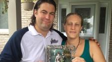 Sam and Amanda Zilio remember their late father, Armando. (Chris Campbell / CTV Windsor)