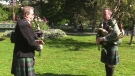 Family with bagpiping legacy