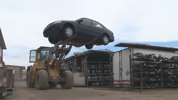 A Mississauga car dealership purchased vehicles from salvage auctions and resold them.
