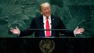 Diplomatic Community: Trump speech 'tone deaf'