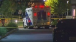 ambulance north york shooting