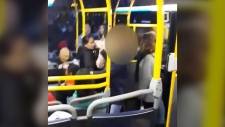 Woman videoed in bus tirade speaks to CTV