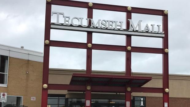 Tecumseh Mall Entrance