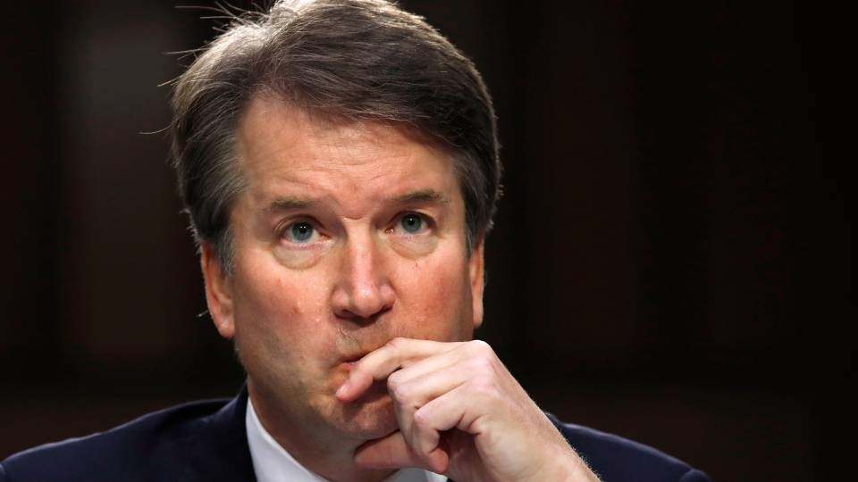 Kavanaugh Says He Might Have Been Too Emotional At Hearing Ctv News