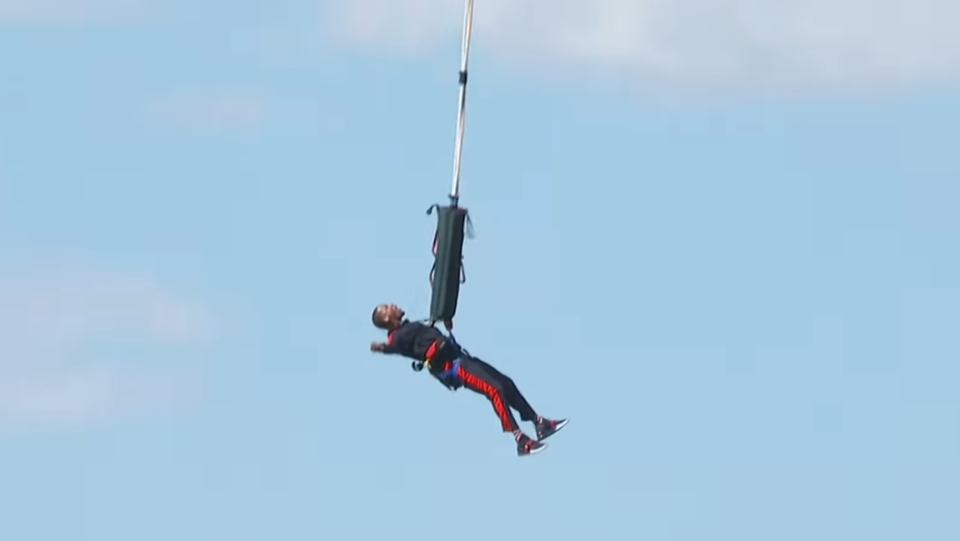Image result for will smith bungee jumping