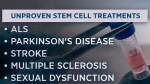 Clinics offering unproven stem cell treatments