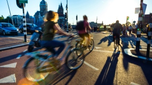 Cycling is a way of life in the Netherlands, where bikes outnumber people, with an estimated nearly 23 million cycles for some 17 million people. © LeoPatrizi / IStock.com