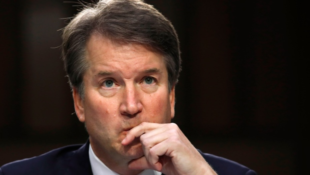 Trump court nominee Kavanaugh denies accusation of third woman