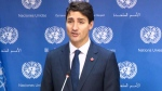 PM Trudeau holds media avail at United Nations