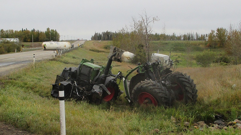 Highway 44 collision