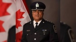 Suspended Delta police Insp. Varun Naidu is seen in this undated image.