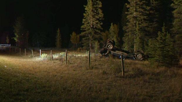 Calgary, EMS, Bragg Creek, Redwood Meadows, fatal