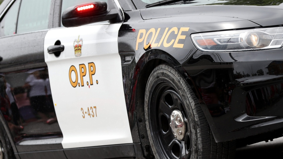 OPP cruiser undated. (The Canadian Press)