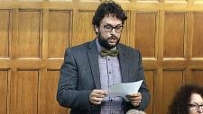 Bloc Quebecois MP Gabriel Ste-Marie