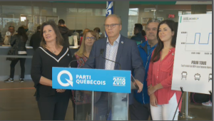 The PQ leader has attacked QS co-spokesperson Manon Masse for her stance on sovereignty and unrealistic promises