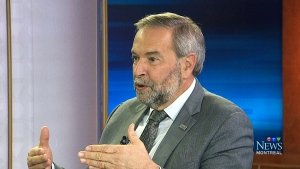 Thomas Mulcair on the campaign's final days