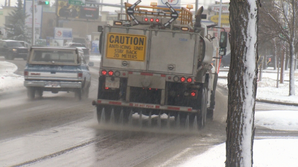 Calcium Chloride will be used on winter roads again: City