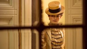 Keira Knightley in a scene from 'Colette.' (Robert Viglasky / Bleecker Street via AP)