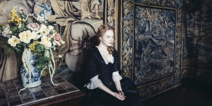 The Favourite, starring Emma Stone, Olivia Colman and Rachel Weisz (Credit: VIFF)