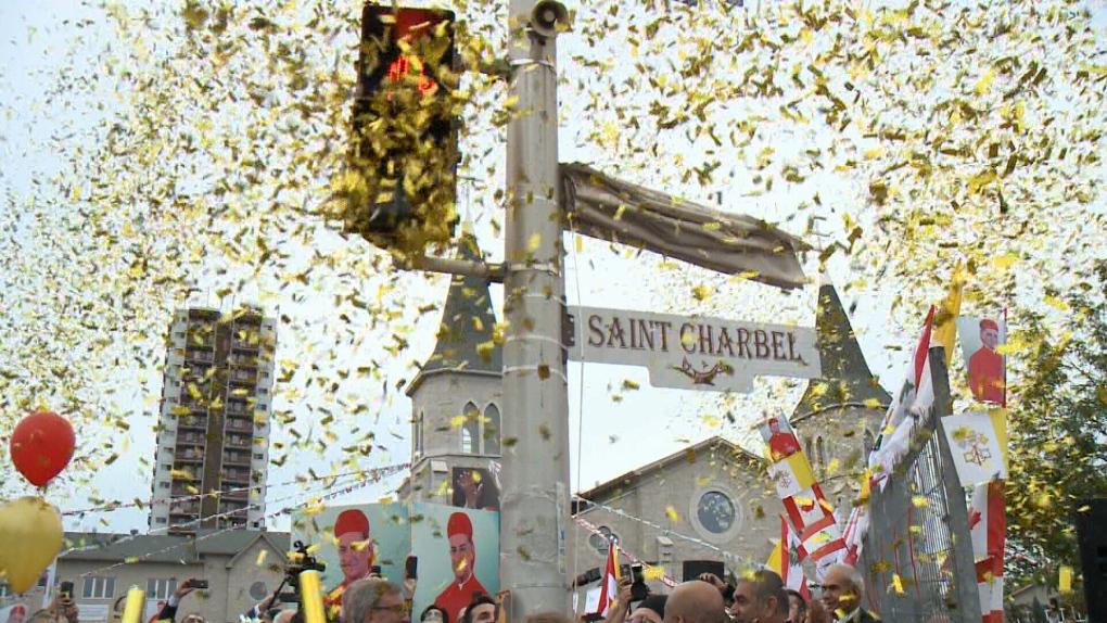 Celebration at St. Charbel Parish