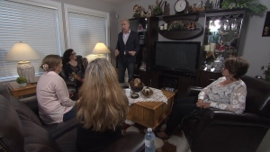 Ross McLaughlin meets with a group of women who want their money back after they say a local matchmaking company failed to live up to their expectations. (CTV)