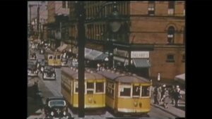 Trams were part of Halifax public transportation system beginning in the late 19th century until 1949. (FILE)