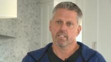 Homeowner Steve Plummer speaks to CTV Ottawa