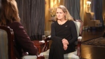 Gov. Gen. Julie Payette speaks with CTV National News Chief Anchor and Senior Editor Lisa LaFlamme at Rideau Hall on Friday, Sept. 28, 2018.