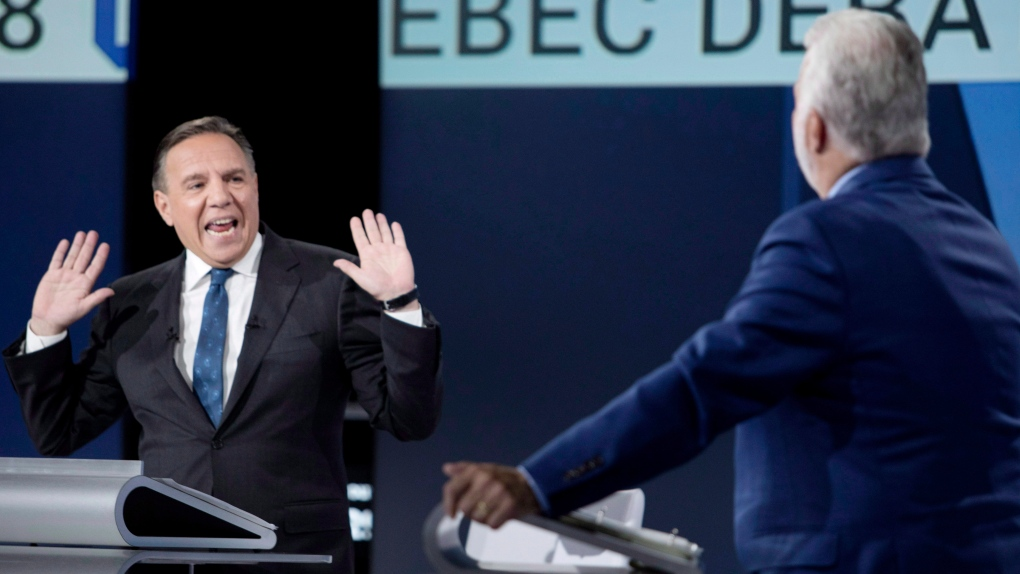 Legault and Couillard
