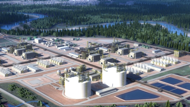 $40 billion LNG Canada pipeline project in BC gets green light
