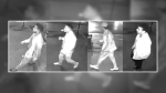 Police were looking to identify four people in connection to a shooting in uptown Waterloo.