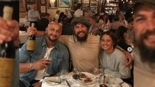 Jason Mamoa spotted in Vancouver