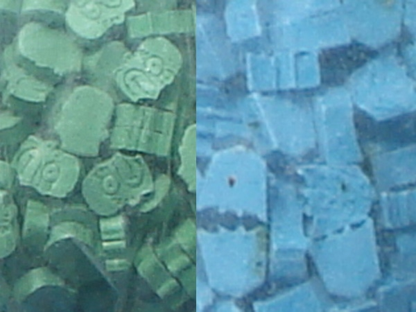 The drugs, which have a total street value of about $1 million, were in the shape of cartoon characters Homer Simpson and Optimus Prime. (CTV)