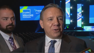 The CAQ is projected to form the next Quebec government on October 1