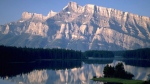 A view of Two Jack Lake in Banff National Park is shown in this undated handout photo. (Travel Alberta / THE CANADIAN PRESS)
