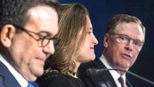 Freeland negotiating NAFTA