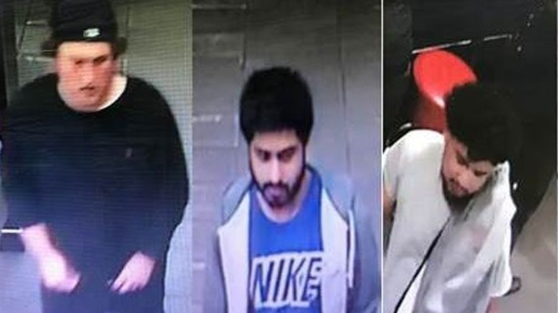 Suspects wanted in connection with an attack on a man near a bar in the Annex. (Toronto police handout)