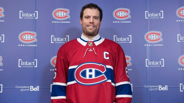 The choice was obvious   Shea Weber named captain of the Montreal ... 9fcb7f75cff