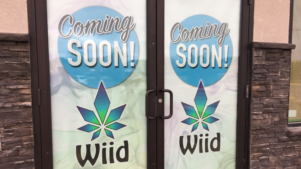 Wiid Boutique hopes to have its doors open for marijuana legalization on Oct. 17 (Creeson Agecoutay / CTV Regina)