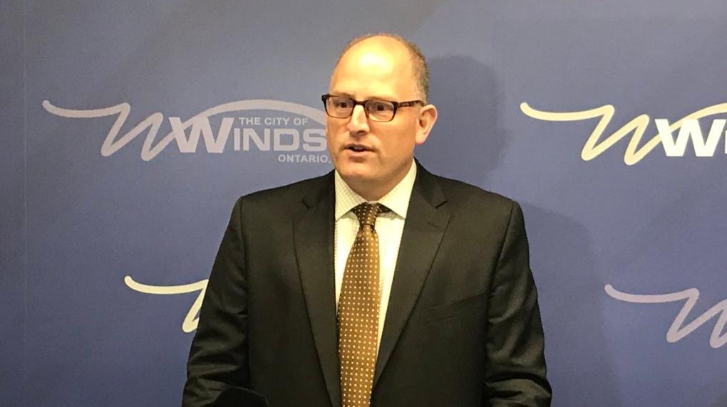 Drew Dilkens Crime News Conference