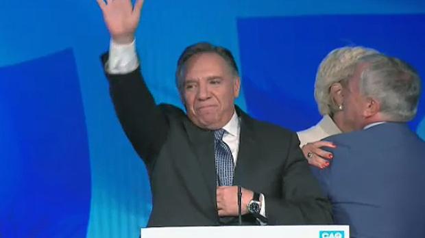 Francois Legault was elected as premier of Quebec on Oct. 1, 2018